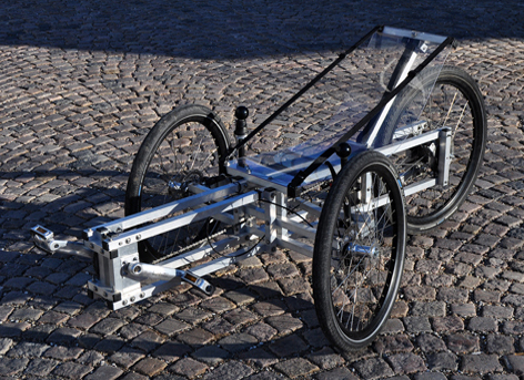 yea or nay diy no weld aluminum recumbent trike my recumbent resources. Black Bedroom Furniture Sets. Home Design Ideas